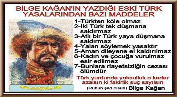 Türkler Bilge Kagan