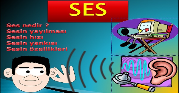 Ses - Fen bilimleri