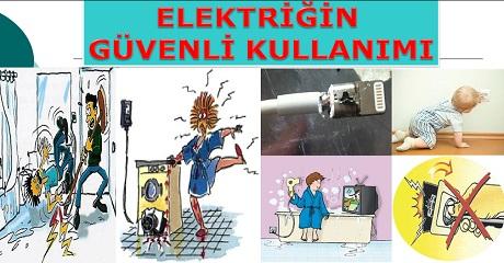 Elektriğin güvenli kullanımı  - Fen 3