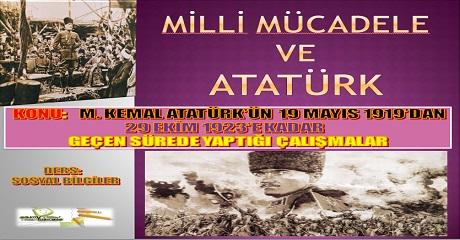 Milli Mücadele ve Atatürk
