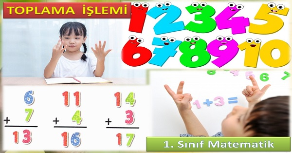Toplama işlemi 1. Sınıf Matematik