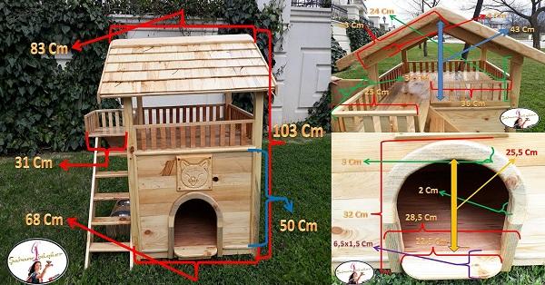 Kedi ve köpek evi yapımı FREE PLAN