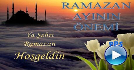 Ramazan ayının önemi