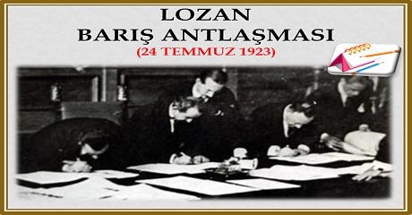 Lozan Barış Antlaşması
