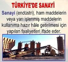 Türkiye de Sanayi