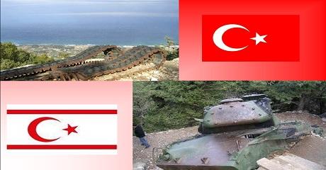 Kıbrıs taki Tank