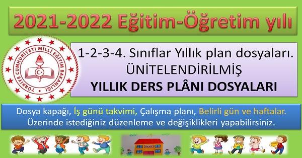 Yıllık planlar (Tüm sınıflar)