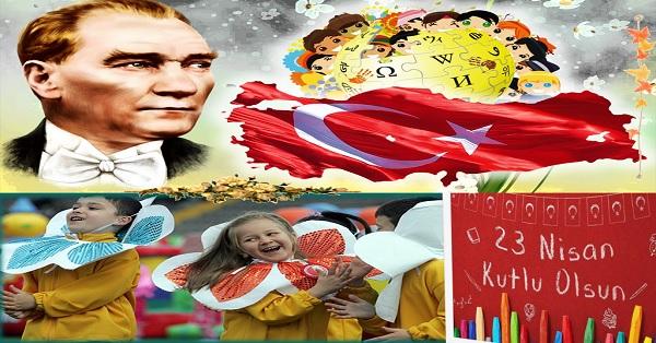 23 Nisan Ulusal Egemenlik ve Çocuk bayramı sunumu