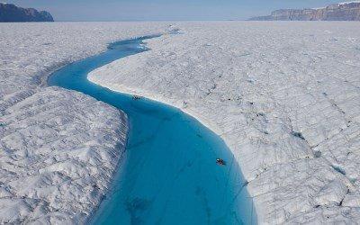 Frozen Sea Landscape