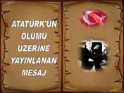 Atatürk'ün Ölüm İlanı