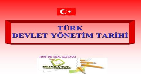 Türk devlet yönetimi tarihi