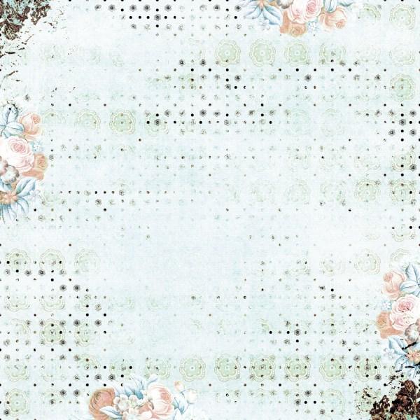 Flower Patterned Background