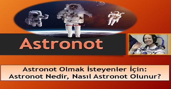 Astronot ve uzay