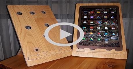 Tablet - telefon standı yapımı