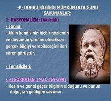Bilgi Felsefesi Epistemoloji