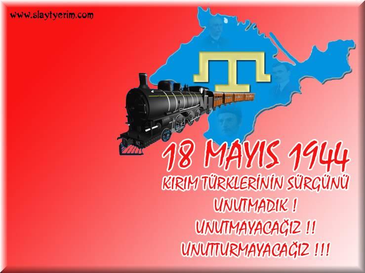 18 Mayıs 1944 Kırım Türklerinin Hüznü