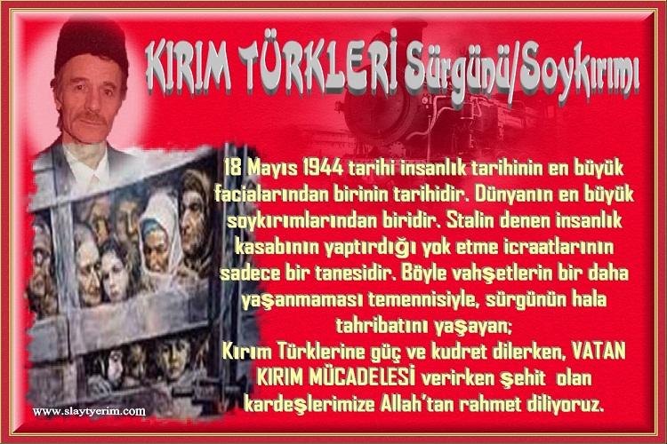 Kırım Türkleri sürgünü/Soykırım