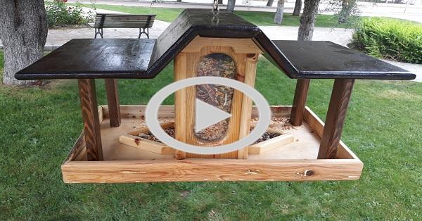 Kuş evi yemliği yapımı
