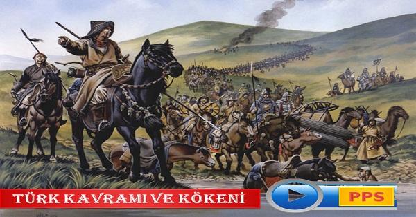 Türk kavramı ve kökeni