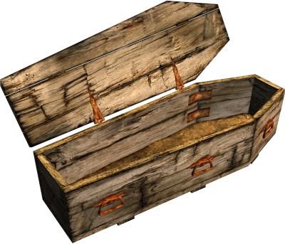 old casket