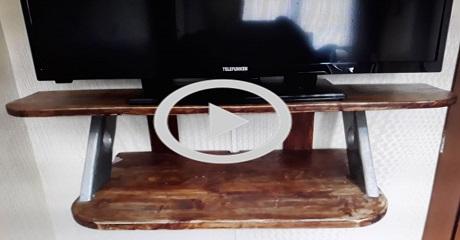 Tv sehpası - ünitesi yapım / Kendin Yap
