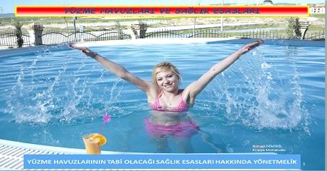 Yüzme havuzları ve sağlık esasları