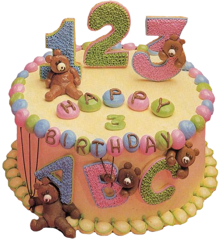 Numerically birthday cake