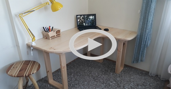 Çalışma masası - KENDİN YAP