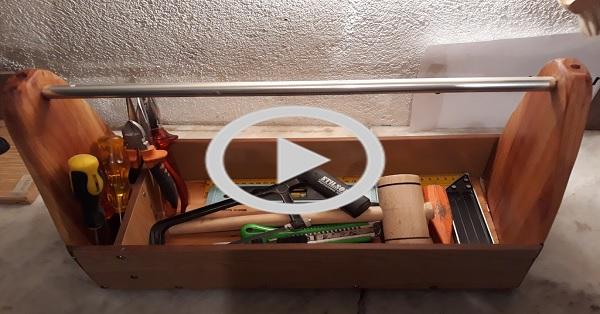 Ahşap alet çantası yapımı - KENDİN YAP