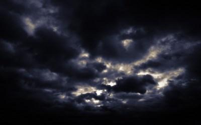 Sky Landscape with storm cloud