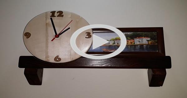 Dekoratif saat yapımı - Kendin Yap