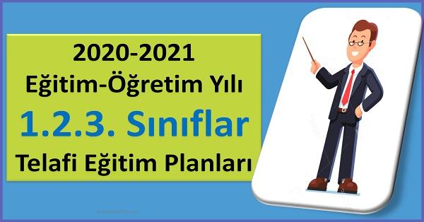 2020-2021 Eğitim-Öğretim Yılı Telafi Eğitim Planları