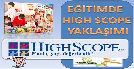 Eğitimde High Scope yaklaşımı