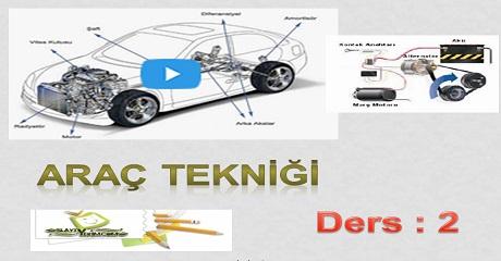 Araç Tekniği Dersi 2