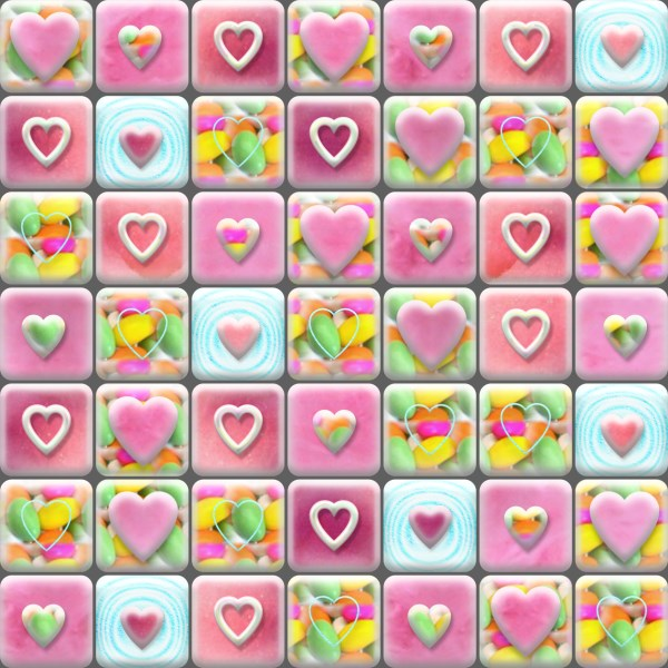 Heart patterned background