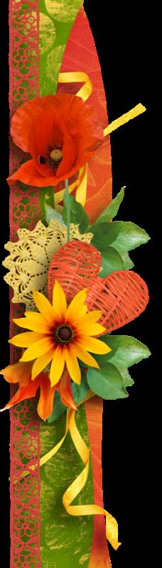 flowery edging