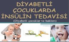 Diyabetli çocuklarda insülin tedavisi