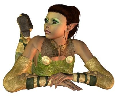 Elf Princess Alisona