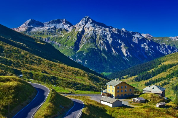 Alp Mountain Landscape