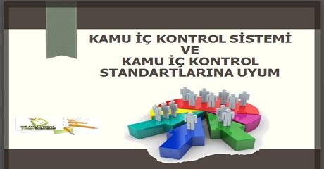 Kamu iç kontrol sistemi ve kamu iç kontrol standartlarına uyum