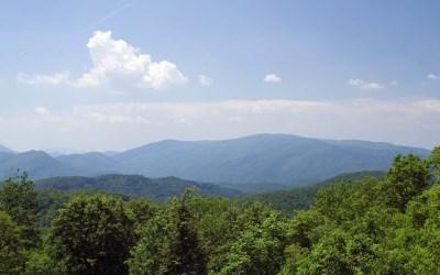 high hills landscape