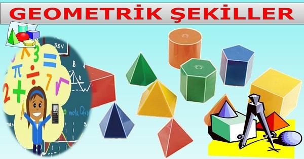 Geometrik şekiller Matematik 3