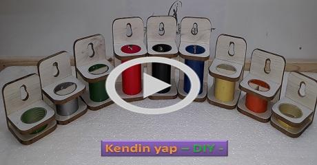 Renkli çok amaçlı kutular yapımı - Kendin Yap