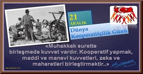 21 AralıkDünya Kooperatifçilik Günü E-Kartı