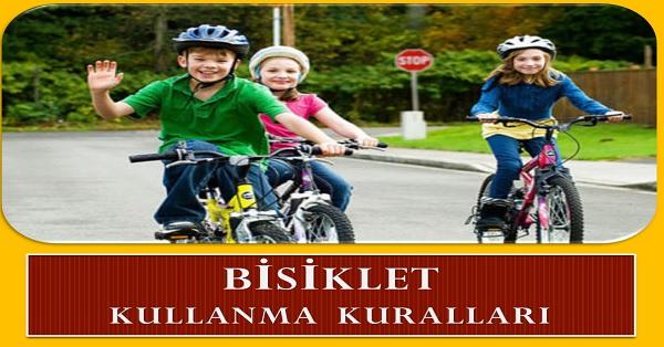 Bisiklet kullanma kuralları