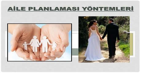 Aile planlaması yöntemleri