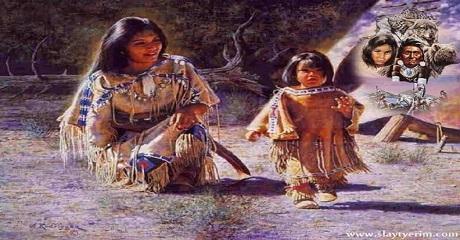 Kızılderili kitabesi