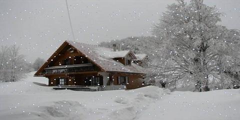 Kışın güzelliği