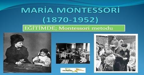 Eğitimde Montessori Metodu