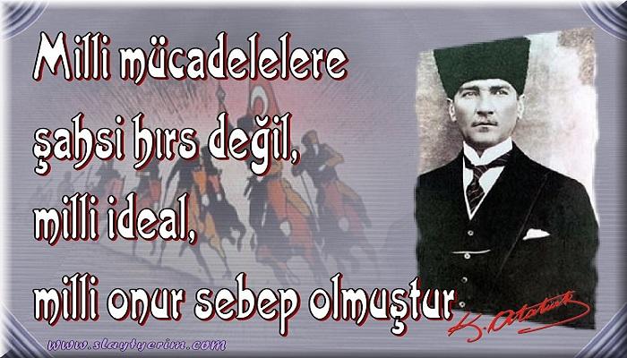 Atatürk'den veciz sözler